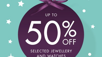Up to 50% off selected items at F. Hinds!