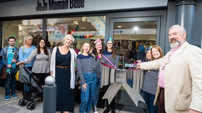 Crowds turn out for JoJo Maman Bébé store launches at Five Valleys!